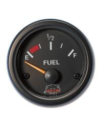 Afficheur niveau de carburant G-Line - 240-33 ohms - Ø 52 mm - noir