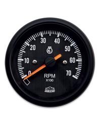 Afficheur compte-tours 0-7000 RPM - G Line - Ø 84 mm - noir -