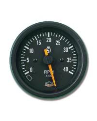 Afficheur compte-tours diesel 0-4000 RPM - G Line - Ø 84 mm - noir -