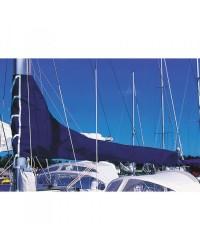 Housse de grand voile - Bleu royal - Longueur de bome 4,15 m