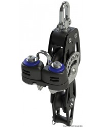 Poulie violon avec ringot et coinceur HTX 60mm pour corde 12mm