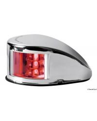 Feu de navigation Mouse Deck jusqu'à 20 m rouge babord en inox