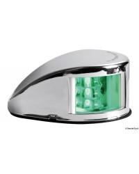 Feu de navigation Mouse Deck jusqu'à 20 m vert tribord en inox