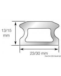Rail taille 2 - 30x15x3026mm LEWMAR pour voilier jusqu'à 14M