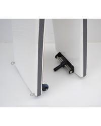Passerelle carbone/FDV pliable 2,2 m
