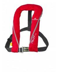 Gilet Pilot 165 manuel+ harnais rouge
