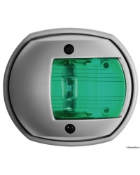 Feu vert tribord Compact 12 LED - boitier gris