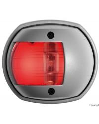 Feu rouge babord Compact 12 LED - boitier gris
