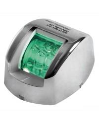 Feu de navigation Mouse à LED vert tribord en inox