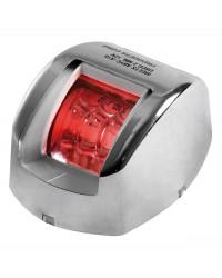 Feu de navigation Mouse à LED rouge babord en inox
