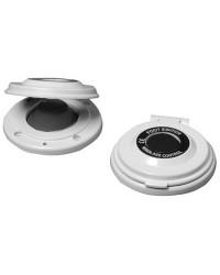 Contacteur à pied blanc pour guindeau Quick - bouton noir ACG0024