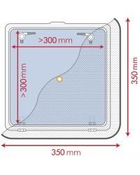Moustiquaire pour panneaux de pont 350 x 350 mm 19.366.00