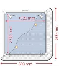 Moustiquaire pour panneaux de pont 800 x 800 mm 19.366.02