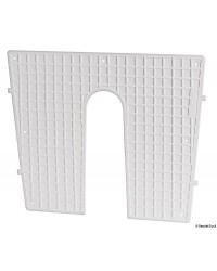 Protège tableau plastique blanc 45x36cm constant