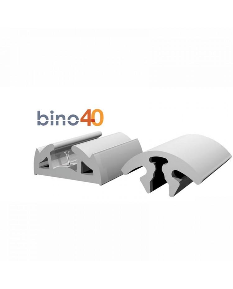 Défense de quai BINO grise 40 X 22 mm X 12 M 44.046.00
