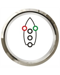 Navigation controller blanc/argent 27.322.38