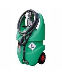 Conteneur p.essence avec roues homologué ADR 55 L