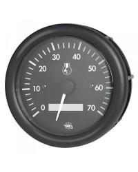 Compte-tours + heures GUARDIAN 7000 RPM 2/4 temps 12V noir-noir 27.421.05