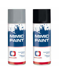 Peinture Spray MIMIC PAINT gris RAL 7035 400ml 52.570.04