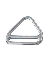 Anneau inox triangulaire barette 6x50mm 39.601.02