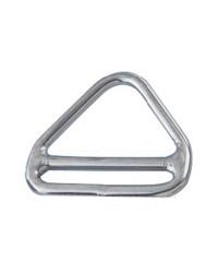 Anneau inox triangulaire barette 5x45mm