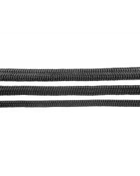 Double tresse d'amarrage Megayacht noire 28 mm 06.470.28