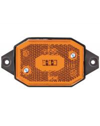 Feu avant à LED avec étrier lumière orange 02.021.52