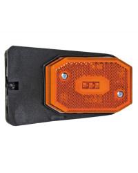 Feu avant à LED avec étrier lumière orange 02.021.51