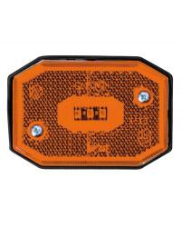 Feu avant à LED lumière orange