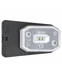 Feu avant à LED avec étrier lumière blanche 02.021.42