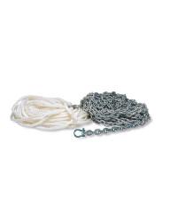 Kit de mouillage bateau, chaîne-cordage-manille 53243