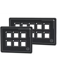 Panneau électronique touch-control 10 interrupteurs 14.690.10