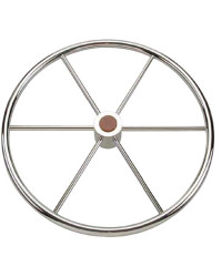 Barre à roue inox 60cm pour cône universel