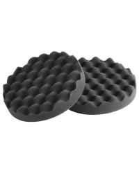Tampons en mousse noir revêtu souple 65.230.03