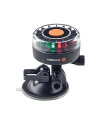 NAVISAFE Navilight 360° tricolore 2NM avec base ventouse comptible GoPro