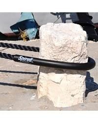 Protection d'amarre SPIROLL pour corde de 8 à 16 mm - noir