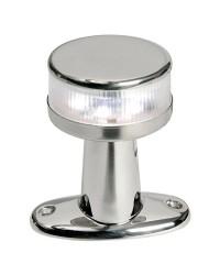 Feu de navigation LED 360° inox sur embase