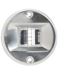 Feu de navigation LED Evoled pour paroi inox blanc 135°