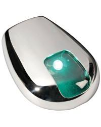 Feu de navigation LED Sea-Dog pour paroi vert 112,5° - 20 M