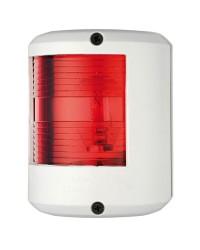 Feu U78 rouge/blanc 12V pour bateau jusqu'à 20M