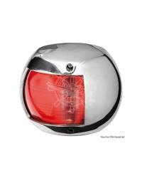 Feu de navigation babord compact 12 inox - LED
