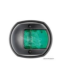 Feu de navigation tribord compact 12 noir - LED