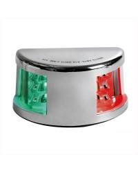 Feu de navigation Mouse Deck jusqu'à 20 m bicolore en inox