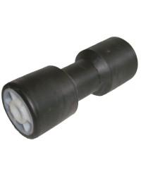 Diabolo de rechange ø75 x 200 mm noir avec renfort métallique