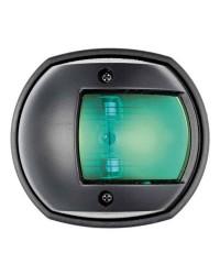 Feu de navigation Compact12 ABS tribord - noir