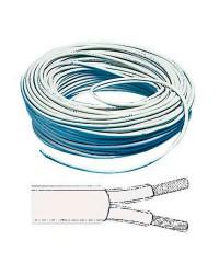 Câble électrique bipolaire 2 x 1.5 mm²