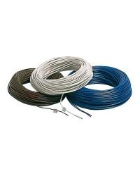 Câble électrique unipolaire 1.5 mm² gris