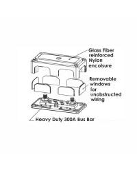 Barette de connexion bus-bar Heavy Duty 2x10 mm