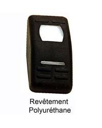 Bascule pour interrupteur Marina noir semi rigide - Flap