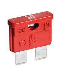 Fusibles à fiche standard avec LED témoin 10A